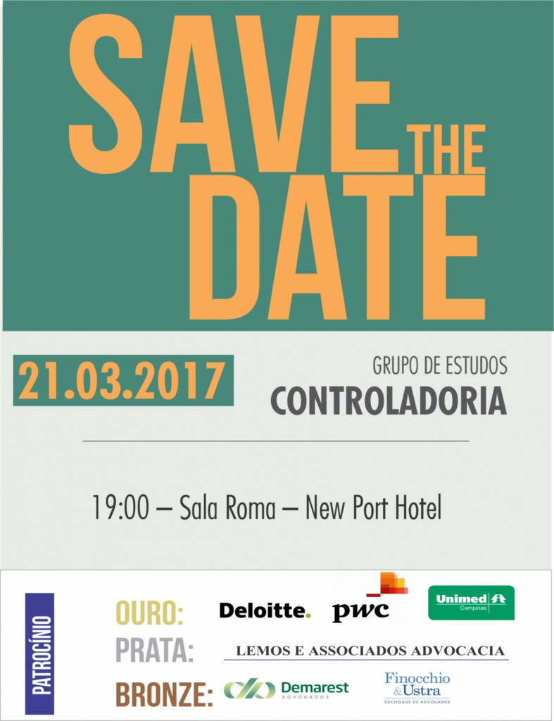Save the Date 21 03 2017